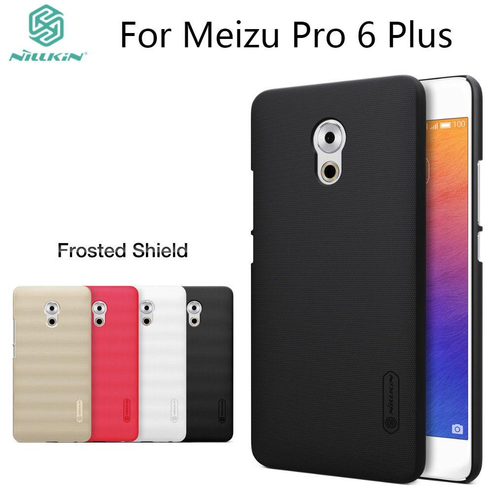 Nillkin givré cas pour Meizu Pro 6 Plus (5.7 '') dur en plastique de couverture arrière avec l'emballage de Vente Au Détail pour Meizu Pro6 Plus