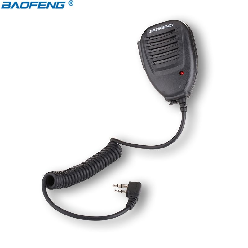 Baofeng PTT Haut-Parleur Micro UV-5R BF-888S UV-5RB UV-5RC Radio Nouveau Portable Un Plus