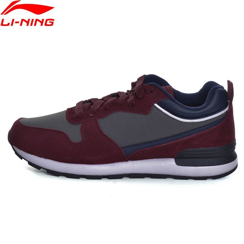 Li-Ning Men Sport Walking Shoes Fitness Comfort Breathable Sneakers Stability LiNing TPU Support Sports Shoes GLKM105 YXB111