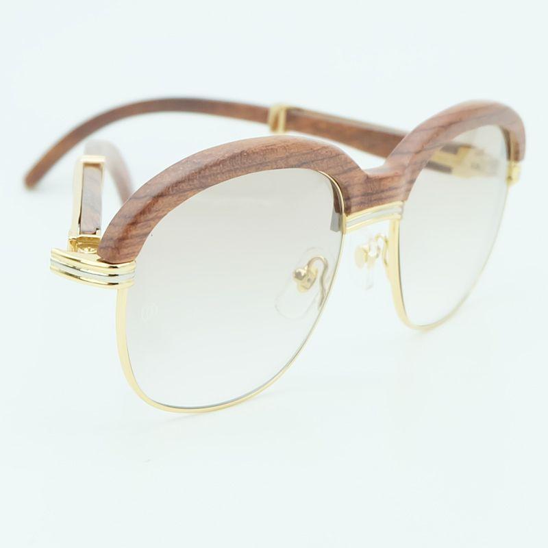 Luxury Brand designer wood glasses frames wooden sunglasses men pink sunglass for mens fashion shades sun glasses women 1116wood