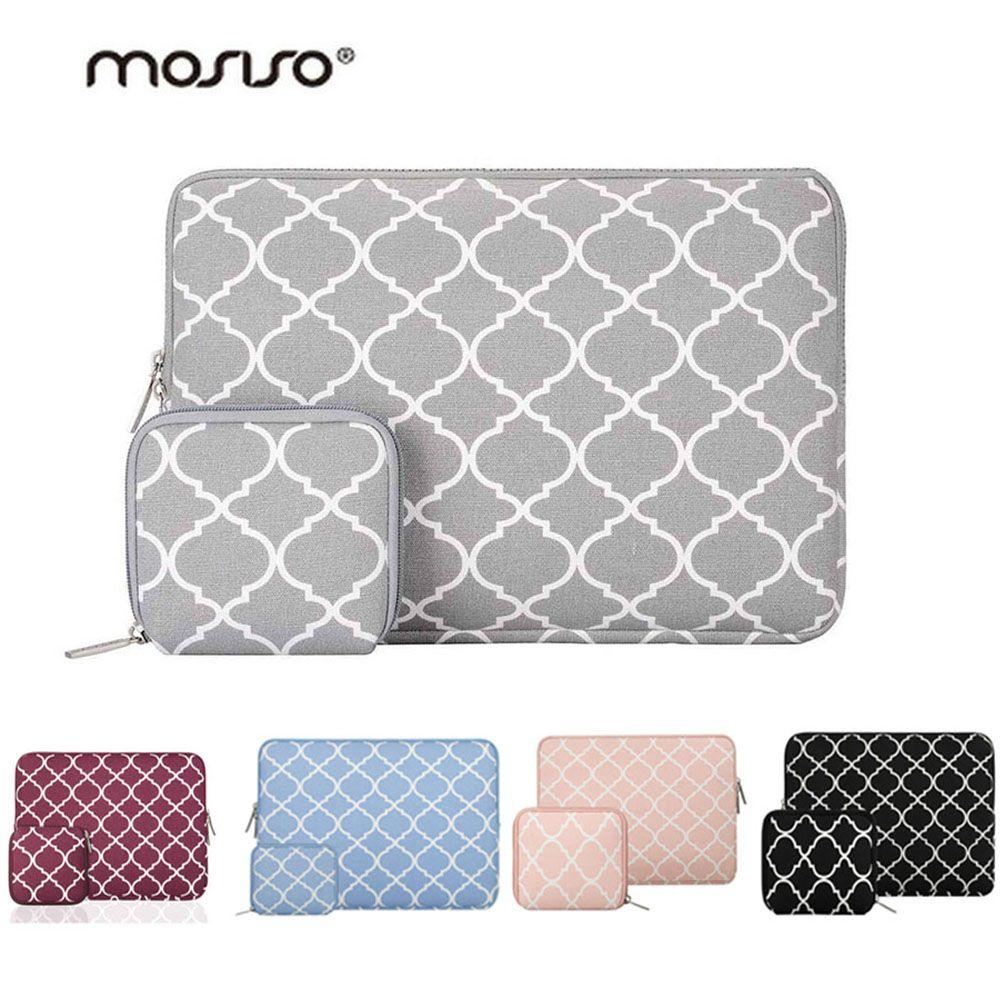 Mosiso 11.6 13.3 14 15.6 pouce Manches Sac Housse pour Macbook Air Pro 13 15 Asus Acer Dell Ordinateur Portable mac Cas Accessoires Femmes