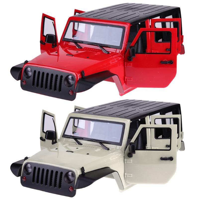 Hard Plastic Car Shell for 1/10 RC Rock Crawler Axial SCX10 Wheelbase 313mm Cool Remote Car Accessories Funny Toys