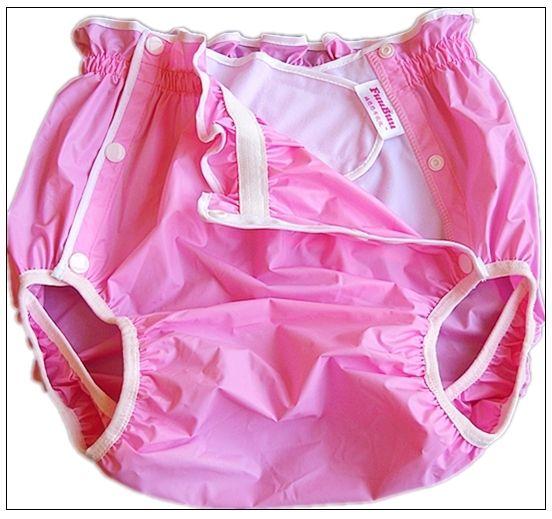 Free Shipping FuuBuu2219-Pink-XL-1PCS  Waterproof pants/Adult Diaper/incontinence pants /Pocket diapers