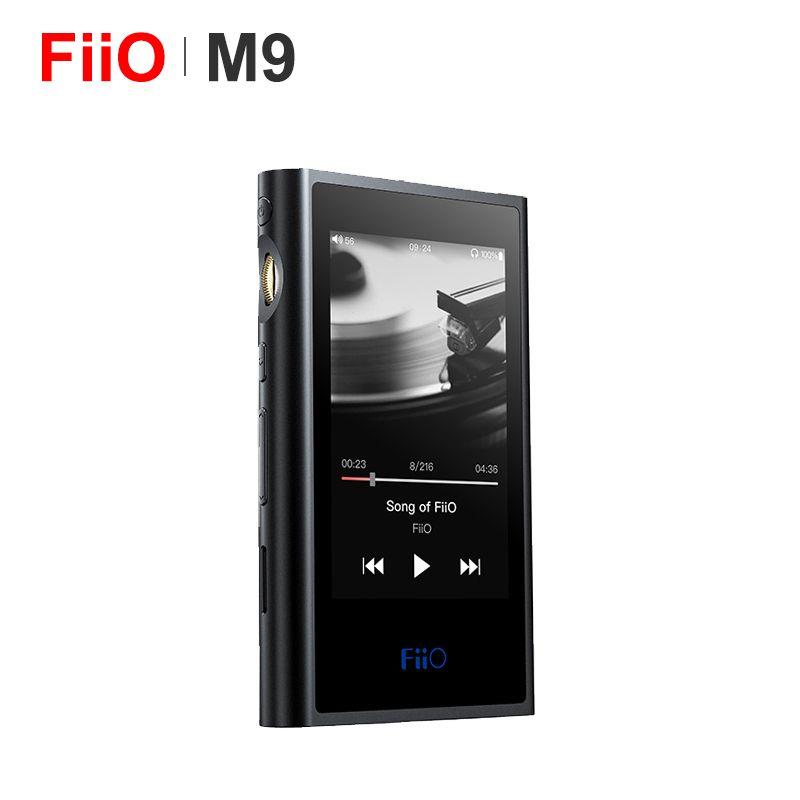 FiiO M9 HIFI AK4490EN * 2 Ausgewogene WIFI USB DAC DSD Tragbare High-Auflösung Audio MP3 Player Bluetooth LDAC APTX FLAC