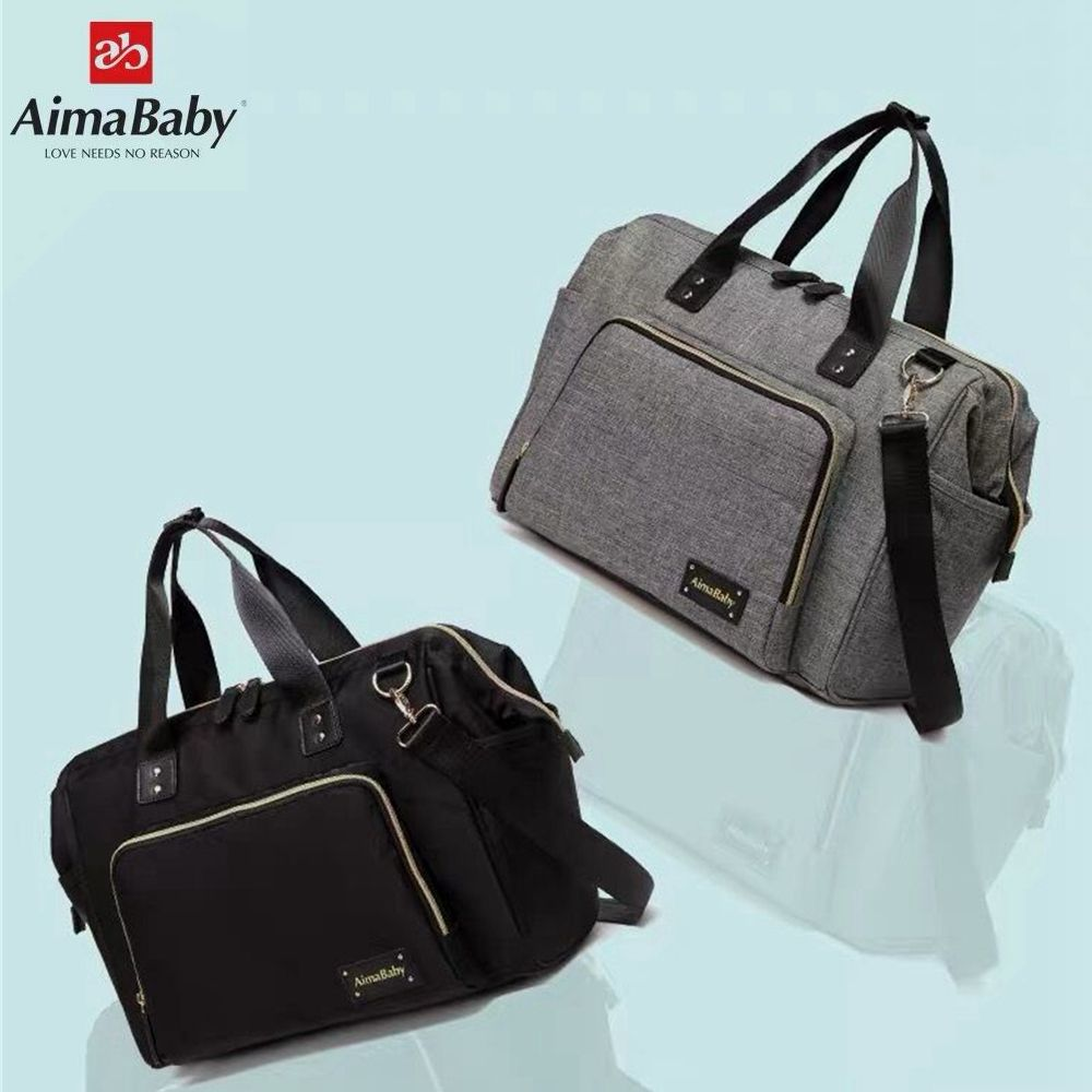Aimababy Large Diaper Bag <font><b>Organizer</b></font> Brand Nappy Bags Baby Travel Maternity Bags For Mother Baby Stroller Bag Diaper Handbag