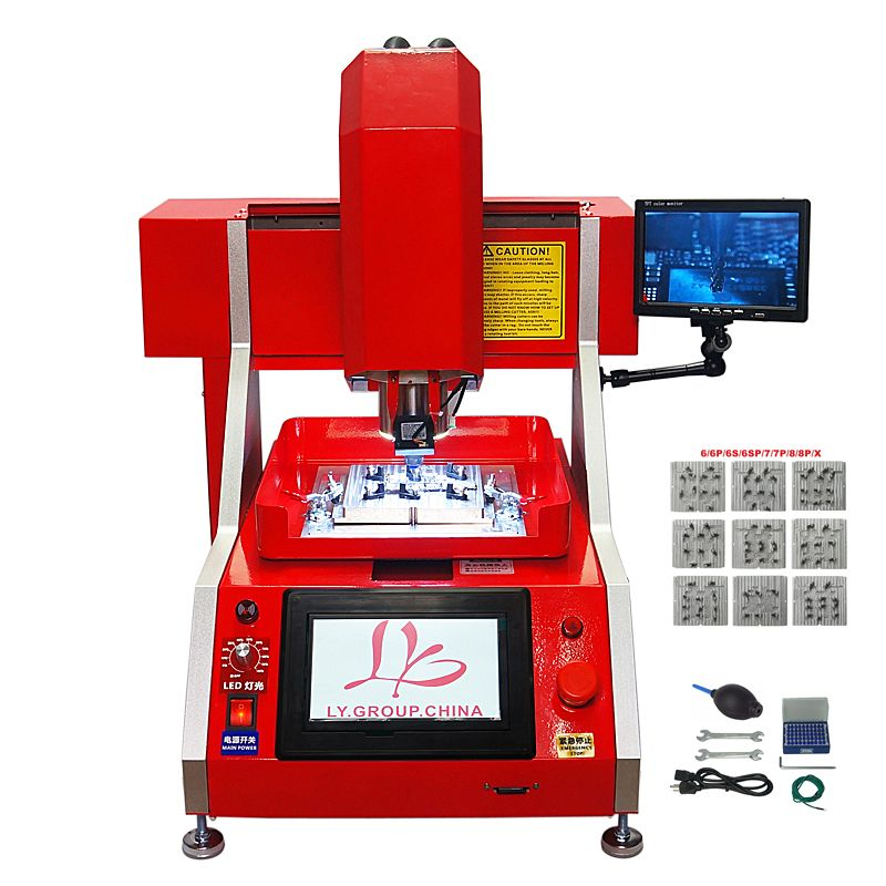 New upgraded auto BGA mobile IC router chipset repair CNC Milling Polishing Engraving Machine LY 1002 for iPhone Main Board chip