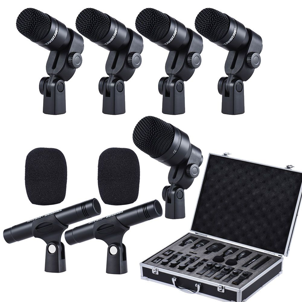 TAKSTAR DMS-D7 Excellent audio Professional Musical Instruments Drum Set Wired Microphone Mic Kit