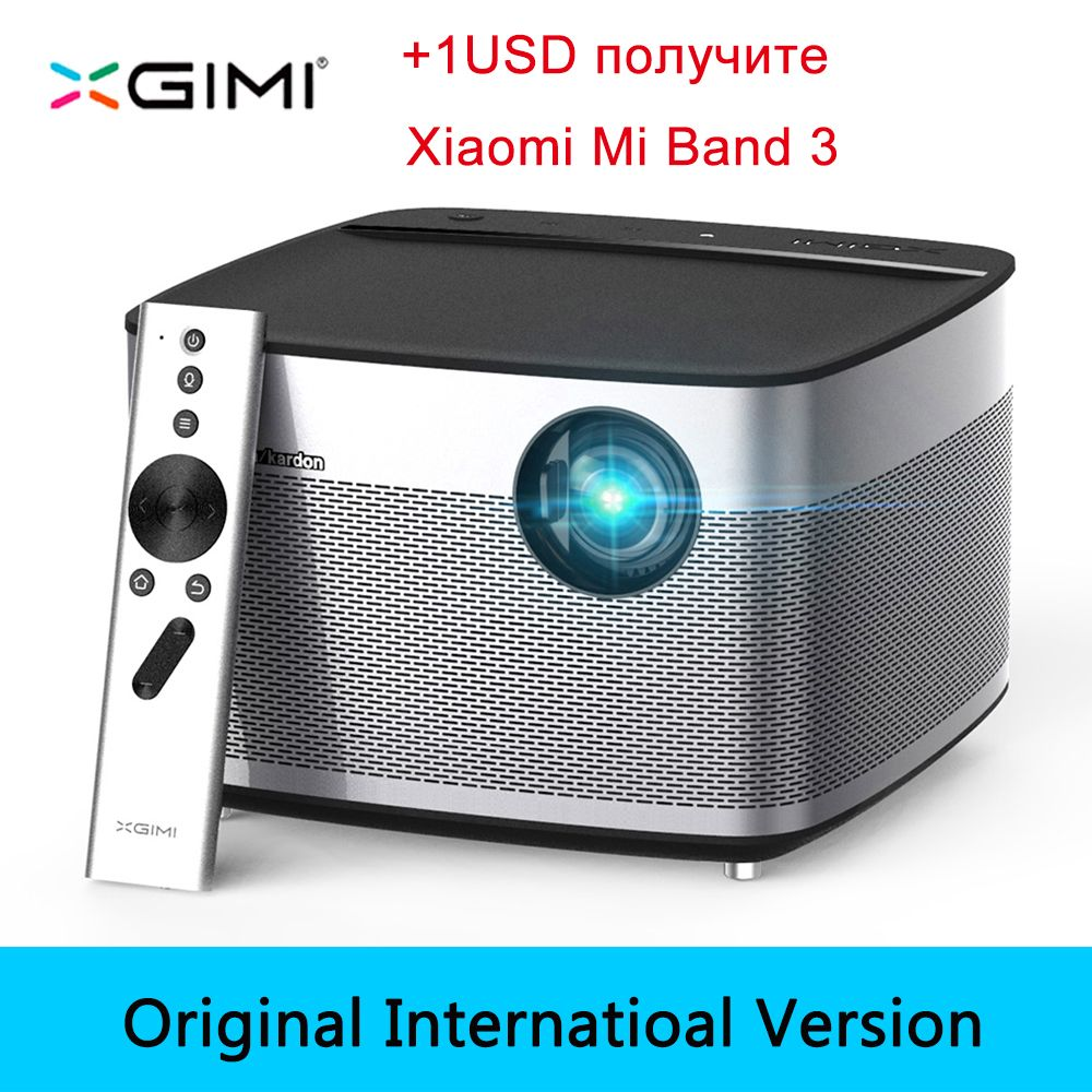 XGIMI H1 DLP Projektor Full HD 1080 p 900 Ansi 3D Unterstützung 4 karat Video Projecteur Android Wifi Bluetooth Home theater Beamer HDMI USB