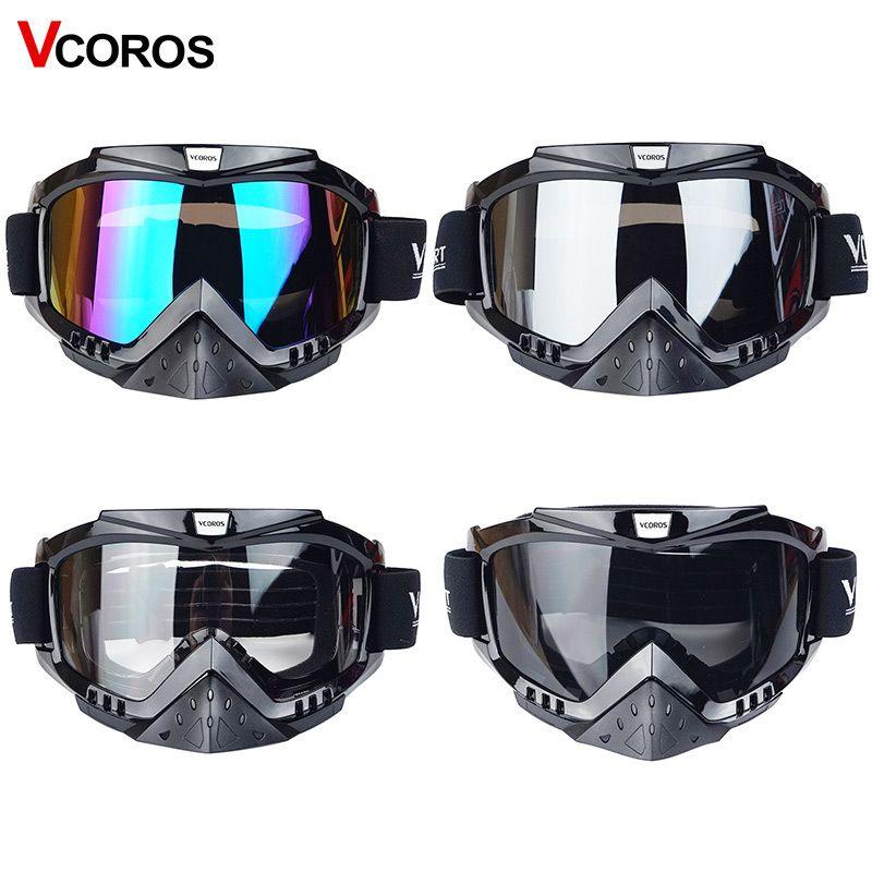 New Vcoros brand Gafas motorcycle goggles helmet glasses moto helmets glasses masque <font><b>motocross</b></font> goggles ski windproof eyewears