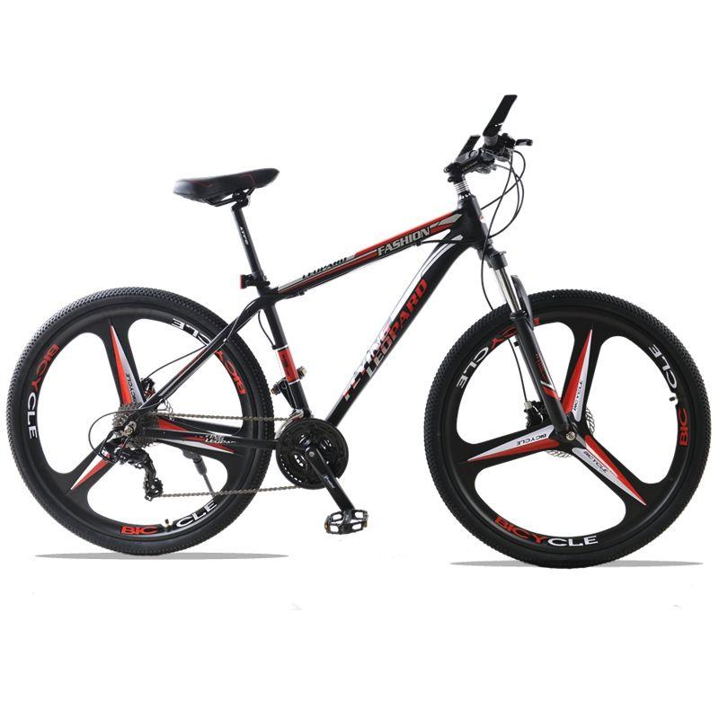 Fahrrad Mountainbike 27 Geschwindigkeit 3-speichen-röhrencarbonfahrrad-rad 29 Zoll Räder Doppelscheibenbremse Aluminium Rahmen MTB