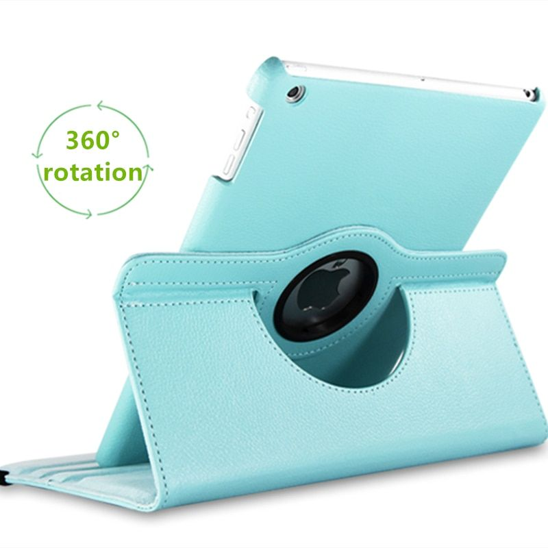 For Apple iPad 2/3/4 Magnetic Auto Wake Up Sleep Flip Litchi Leather Case For New iPad 3 iPad 4 Cover With Smart Stand Holder