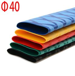 diameter 40mm heat shrink tube for fishing rod Pattern anti-slip Multicolor 1meter