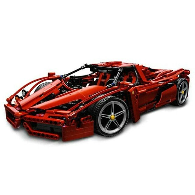 Compatible Legoingly car Racers Technic ENZO 1:10 Super Sports Car Enzo Model Blocks Set Brick Children's Toys Gifts