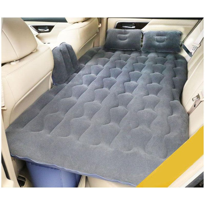 2017 new Car Back Seat Cover Car Air Mattress Travel Bed Inflatable Mattress Air Bed Good Quality Inflatable Car Bed full set