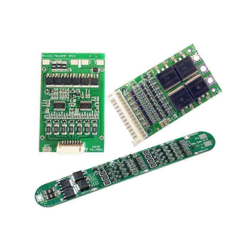 BMS 7 S 10A/25A/30A 18650/32650 lithium-batterie schutz Bord ausgewogene Versio/Lithium-eisen phosphat/ lifePo4 BMS Board
