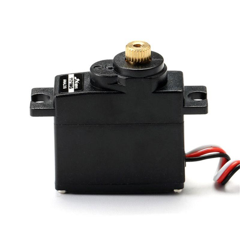 Nueva llegada JX pdi-1171mg 17g de núcleo de engranajes Motores micro servo analógico para modelos RC