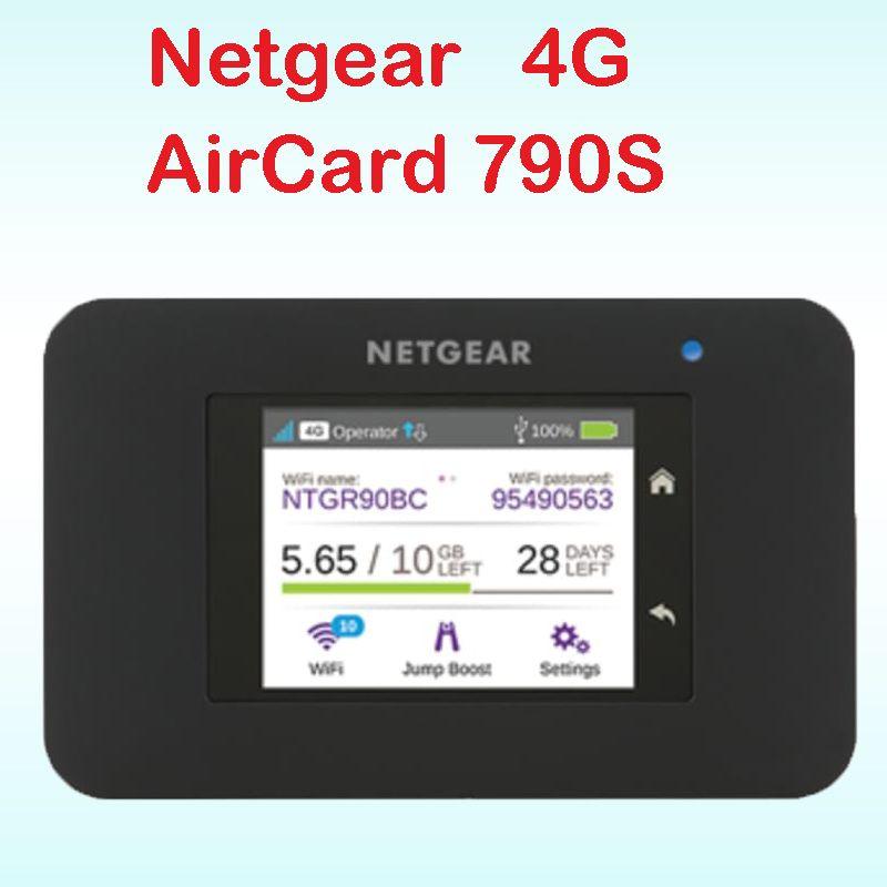 Débloqué cat6 300 mbps netger 790 s AC790S Aircard 4g lte mifi routeur dongle 4g LTE poche wifi routeur pk ac970 762 s ac782s e5878