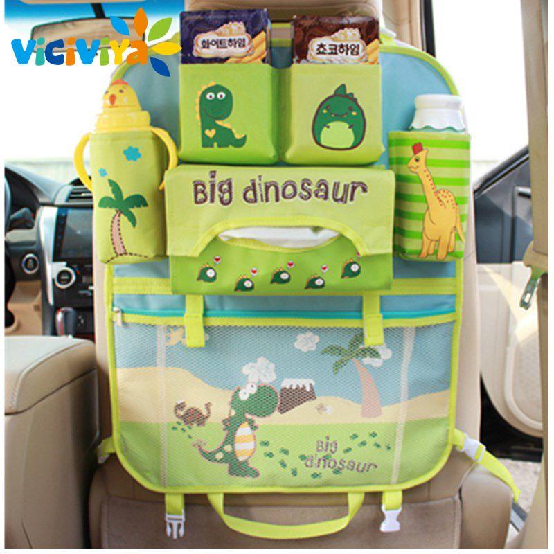 Viciviya Seat Storage Bag Waterproof Universal Baby Stroller Bag Organizer Baby Car <font><b>Hanging</b></font> Basket Storage Diaper Bag$