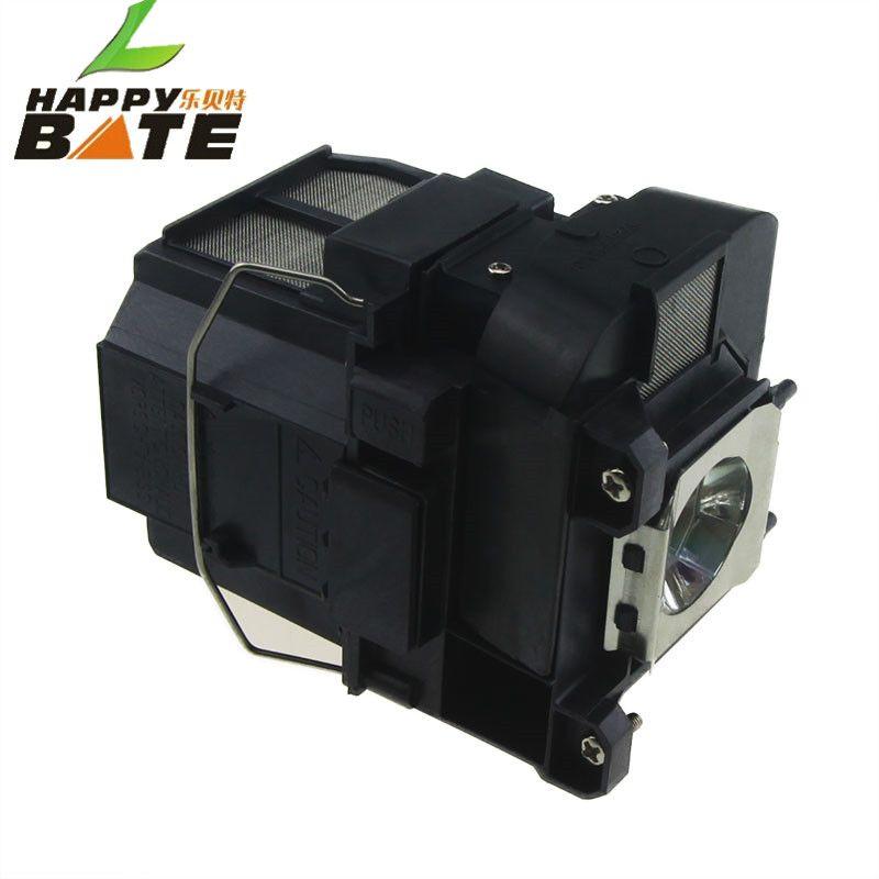 HAPPYBATE Ampoule De Projecteur avec boîtier ELPLP75 V13H010L75 lampe pour EB-1940W EB-1945W EB-1950 EB-1955 EB-1960 EB-1965