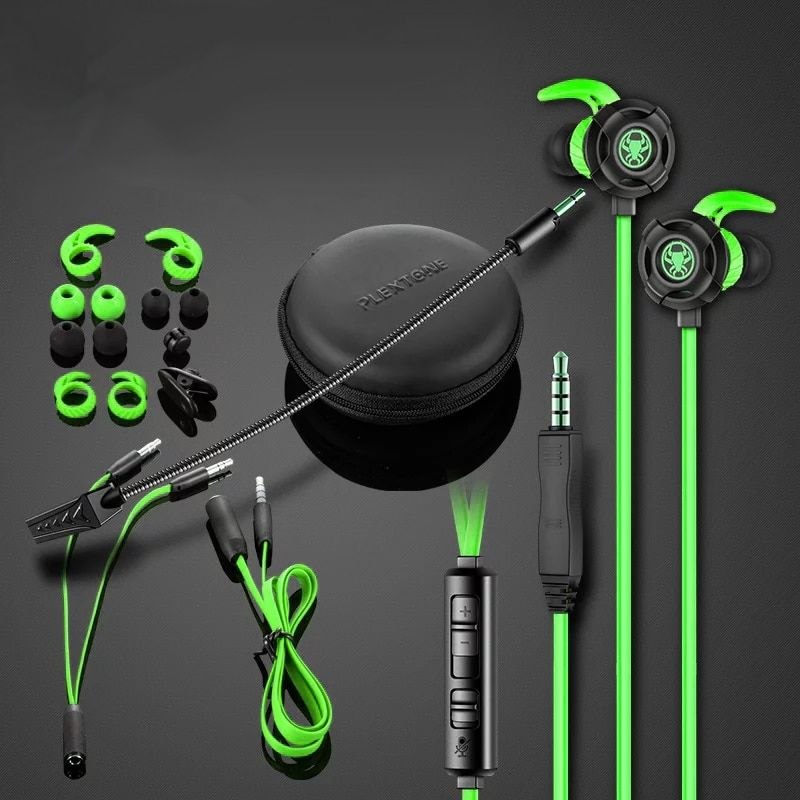 G30 PC Gaming Headset Computer Headphones In Ear Stereo Bass Noise Cancelling Earphone With Mic PK Razer Hammerhead V2 Pro
