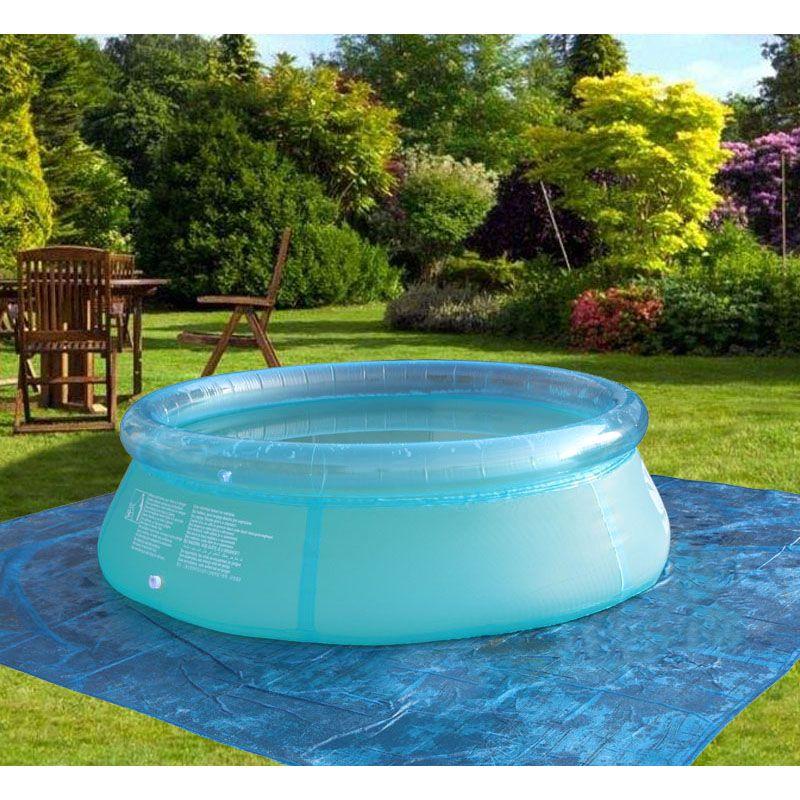 Семейный надувной бассейн плавательный бассейн детский для взрослых и детей синий сад балкон открытый бассейн играть крышка рыбный gonflable ...