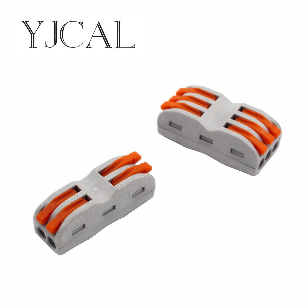 Wago Type 10PCS Electrical Wiring Terminals Household Wire Connectors Fast Terminals For Connection Of Wires Lamps And Lanterns