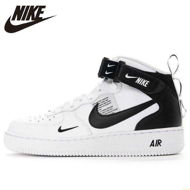 Nike offizielle Air Force 1 Mann Skateboard Schuhe Anti-Rutschig Outdoor Sport Turnschuhe #804609