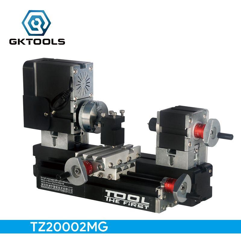 TZ20002MG DIY Big Power Mini Metal Lathe,  60W 12000r/min  Motor, Standardized children education,BEST Gift