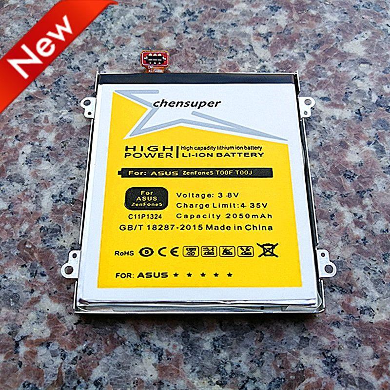 new 2050mAh C11P1324 High quality battery for ASUS ZenFone 5 A500CG Battery A501CG A500KL A500 battery