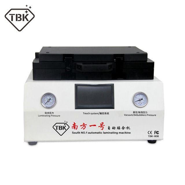 TBK-808 12 zoll Gebogene Bildschirm Vakuum Laminieren und Blase Entfernen Maschine Laminator und Debubbler Für Lcd-bildschirm Reparatur