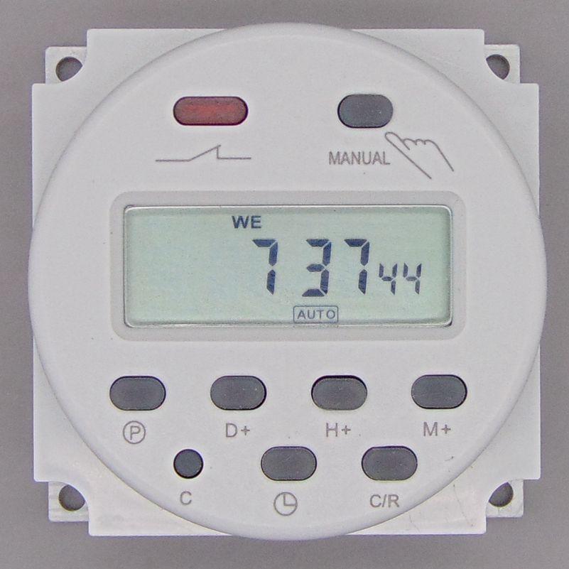 OKtimer CN101A AC 220 V 230 V 240 V Numérique LCD Puissance Minuterie Programmable Interrupteur Horaire Relais 16A timers CN101 minuterie