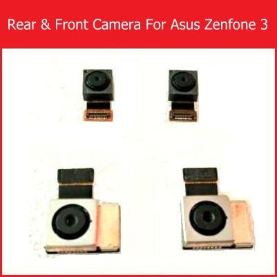 Front & Rear Camera Flex Cable For Asus zenfone 3 ZE552kl Back Camera For Asus ZenFone 3 ze520kl small camera Replacement repair