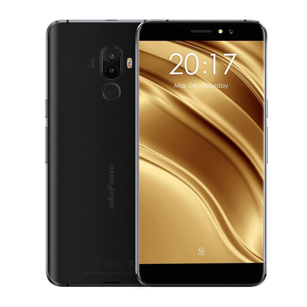 Ulefone S8 Pro 4G Smartphone Android 7.0 Quad Core 1.3 GHz 2 GB RAM 16 GB 13.0MP + 5.0MP Double Caméras Arrière Capteur D'empreintes Digitales Tactile