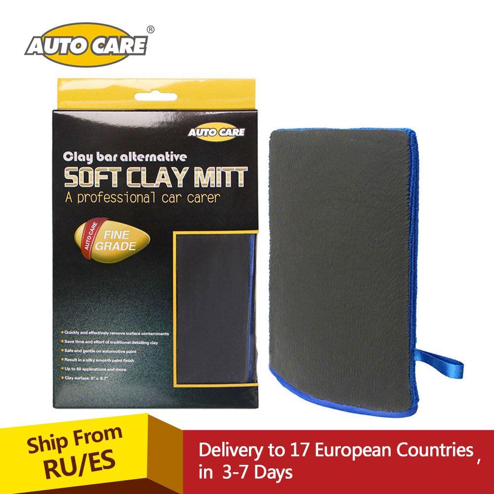 Auto Care Fine Grade Magic Car Washing Clay Mitt Car Wash Clay Gloves Clay Bar Clay Towel For Car Detailing & Polishing