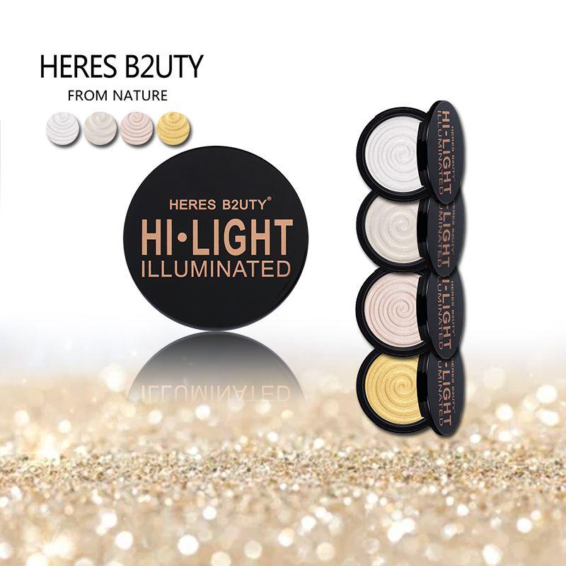 Marque VOICI B2UTY Maquillage Visage Surligneur & Mat Bronze Coupe Surligneur Poudre Lumineux Doux Minérale Durable VShape