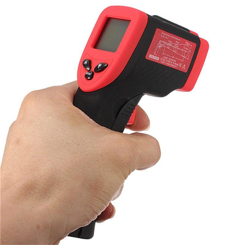 Thermomètre numérique infrarouge LCD affichage DT-500 sans Contact IR testeur de température-50 à 500 degrés Termometro multi-usages