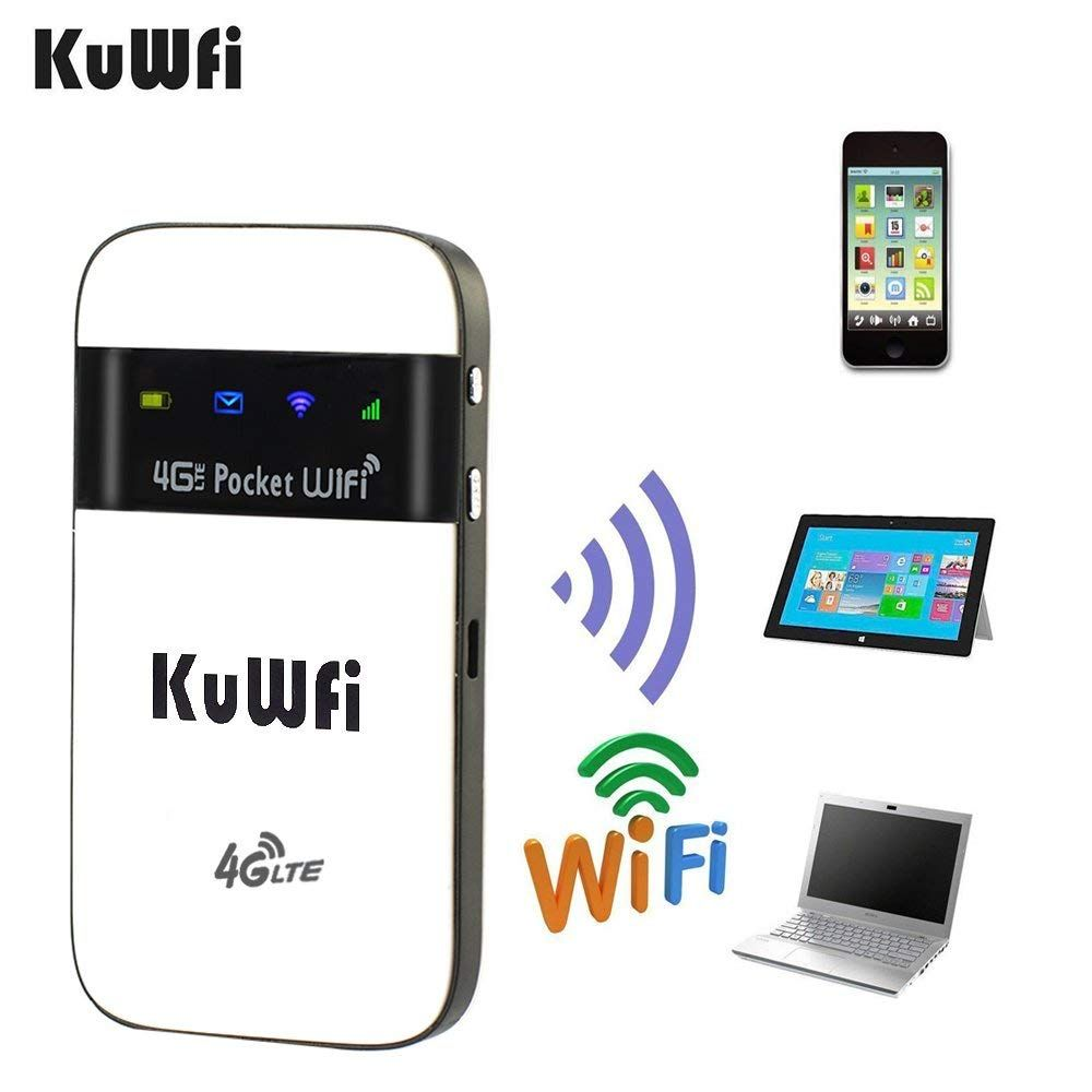 Mini Unlocked 4G LTE Wireless Wifi Router 100Mbps Mobile Wifi Hotspot Support B1(2100MHz) B3(1800MHz) B5(850MHz) Can Use IN USA