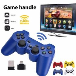 Gasky caliente 2.4 GHz Wireless dual palanca de mando joystick juego GamePad Joy-con para PS3 Android PC Windows 7 8 10 TV box