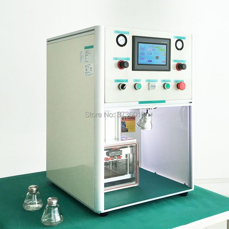 YMJ handy OCA Desktop Laminieren Maschine für iphone für samsung edg lcd kalt presse laminieren reparatur Renovierung