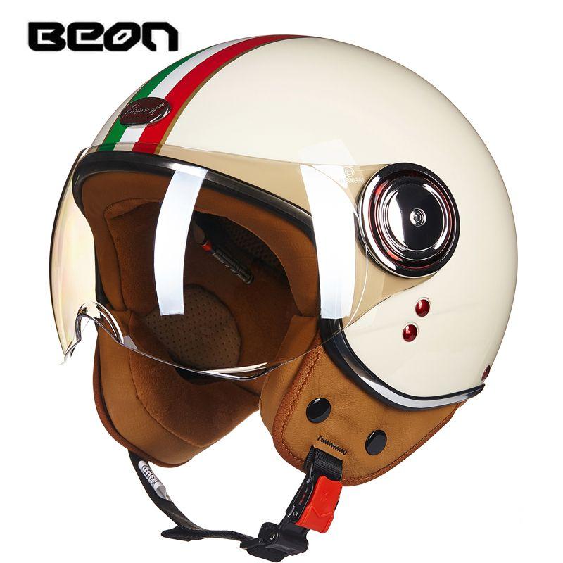 beon retro Motorcycle half helme Open face helmet four season fox motocross t electric bicycle casco moto ktm motocross ls2