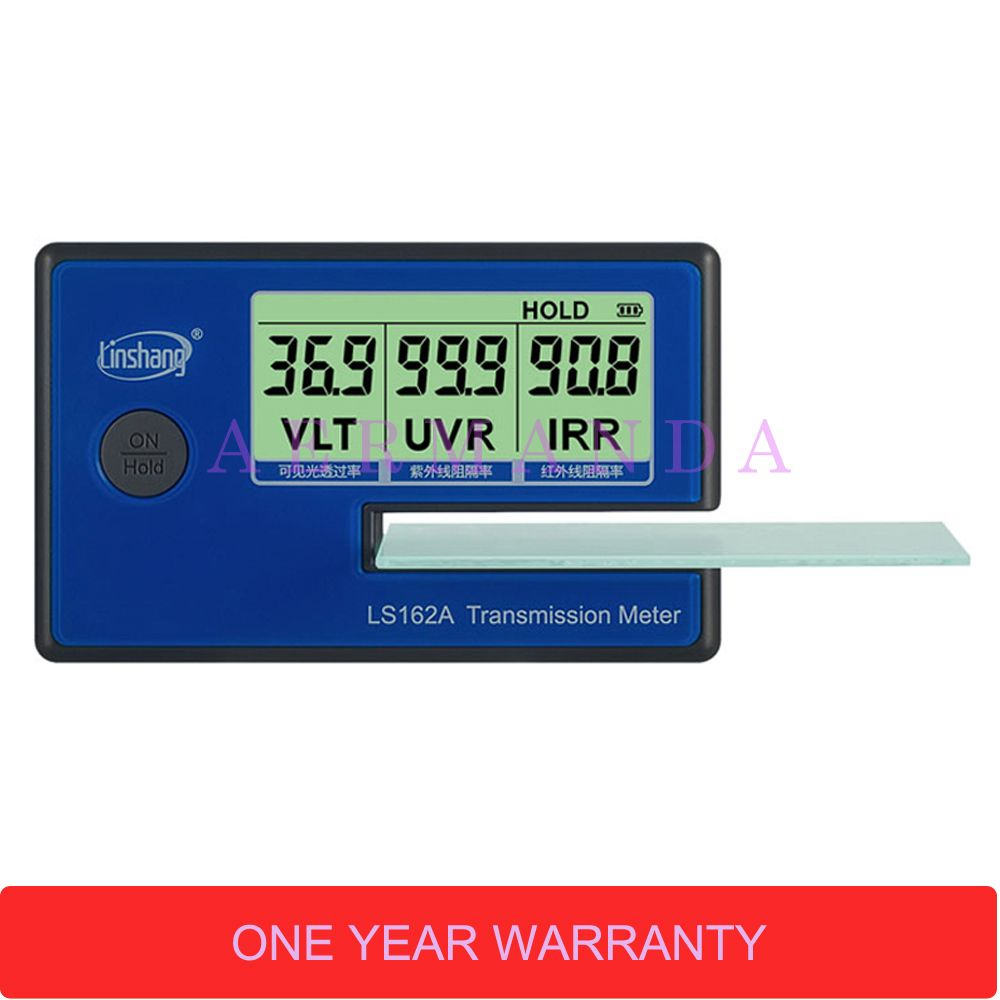 Film for car window transmission meter,Window Tint Meter,LS162A Filmed Glass Tester ,UV IR rejection meter,tinted film tester