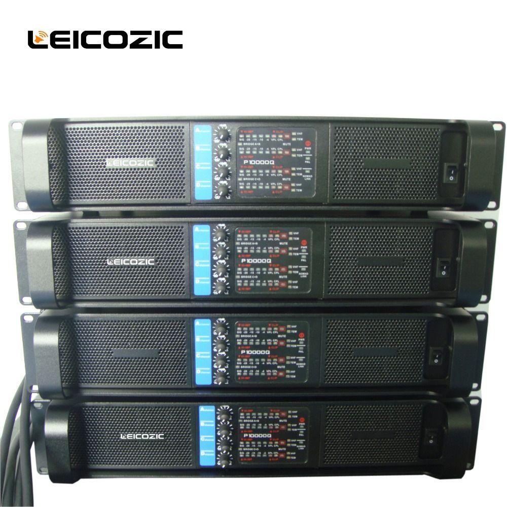 Leicozic 4 kanal verstärker 2500 watt x4 L10000q linie array verstärker audio professional power verstärker subwoofer netzteil amp