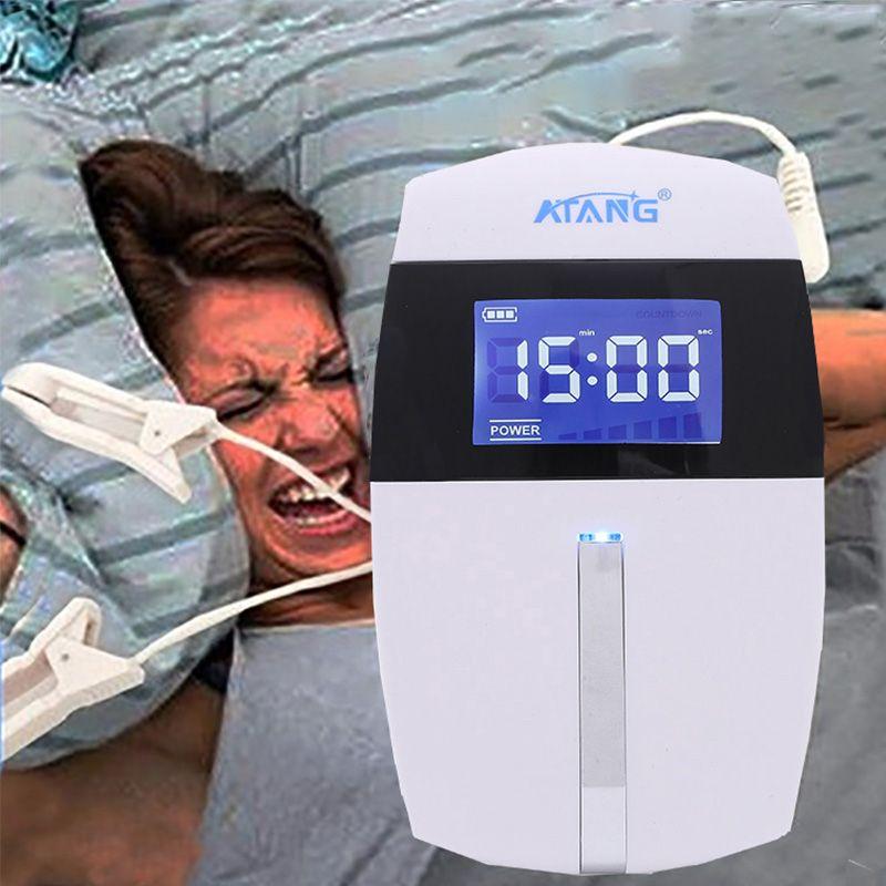 Schädel Elektro Stimulator CES Gerät Alpha Therapie Schlaflosigkeit Anti Schlaf für Angst Schlaflosigkeit Depression Migräne Entspannt