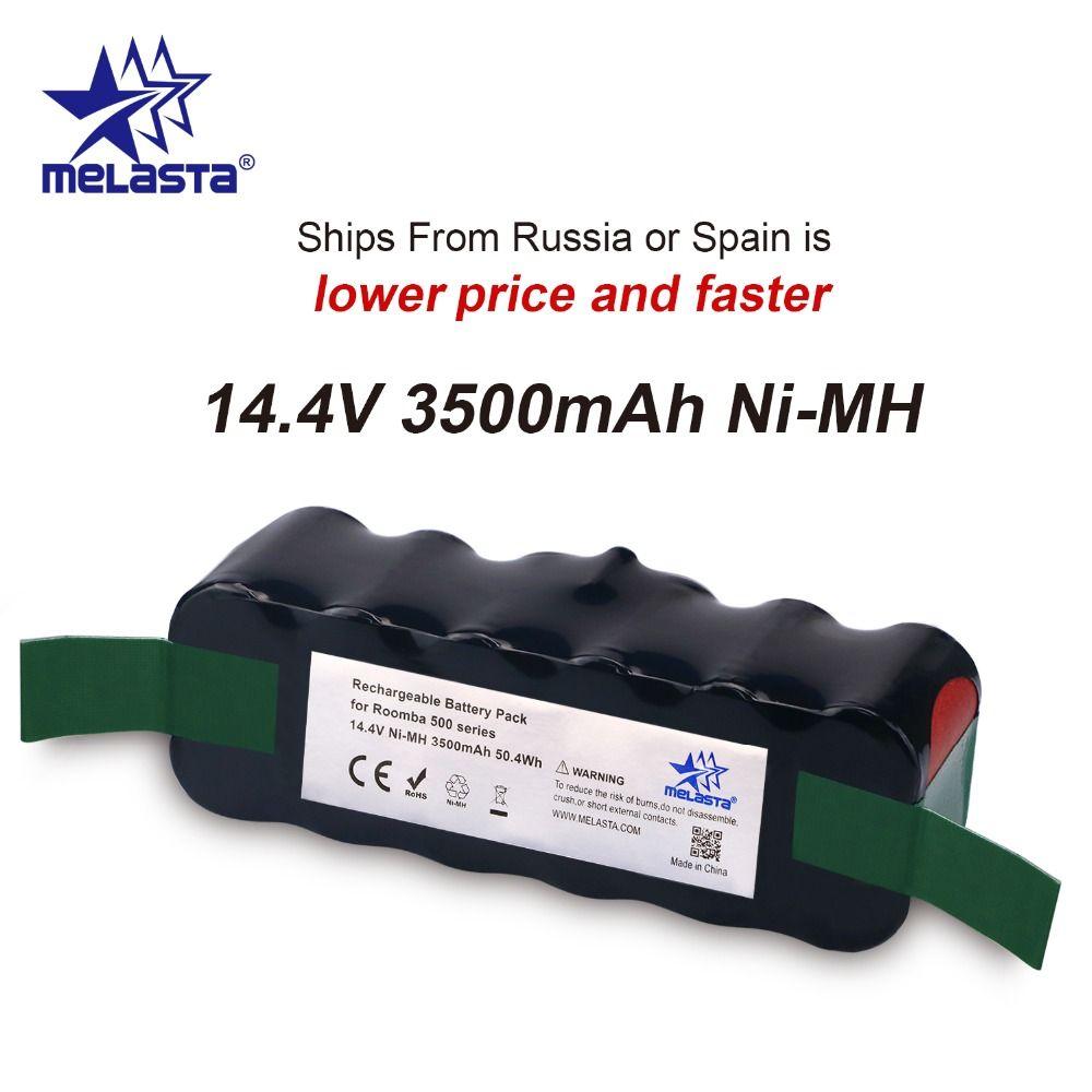 Updated Capacity 3.5Ah 14.4V NIMH battery for iRobot Roomba 500 600 700 800 Series 510 530 550 560 620 650 770 780 870 880 R3