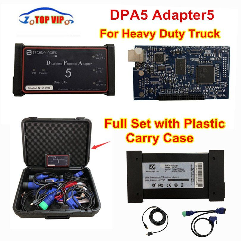 Dearborn Protocol Adapter5 Heavy Duty Truck Scanner DPA5 Without Bluetooth diagnostic tool DPA 5 better than NEXIQ DHL Fast