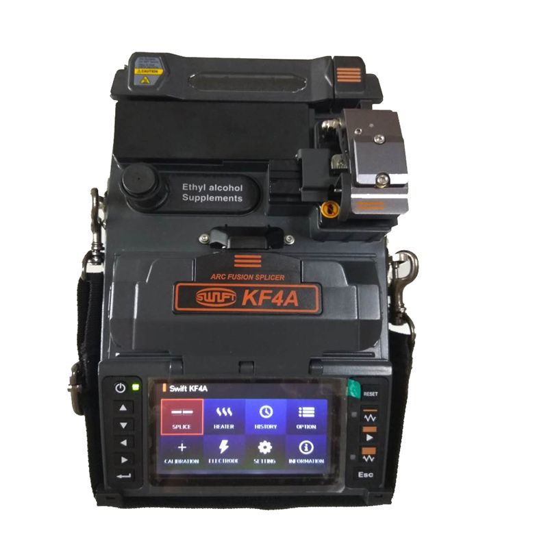 ILSINTECH Fiber Fusion Splicer Swift KF4A V-groove Alignment Korea Handheld fiber Splicing machine price with english menu