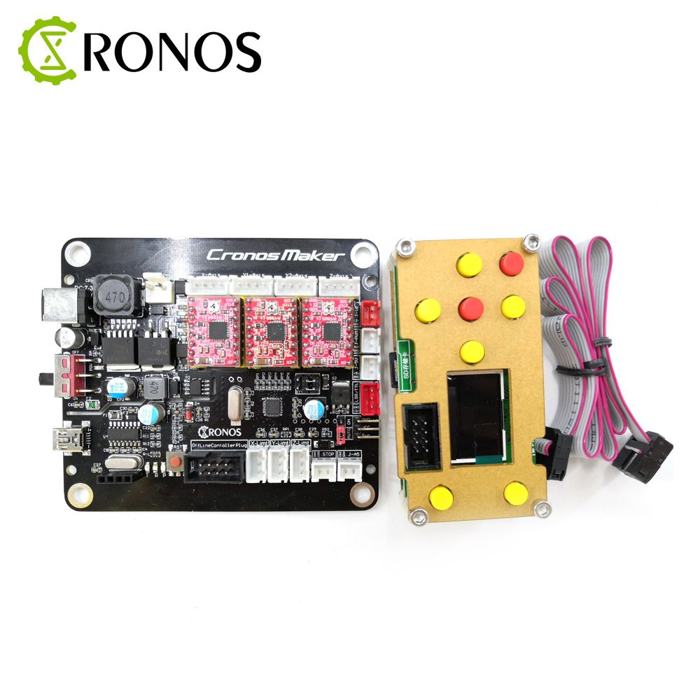 GRBL Offline Controller Board 3Axis Stepper Motor Double Y Axis USB Driver Board For GRBL For Laser Engraving Machine Carving