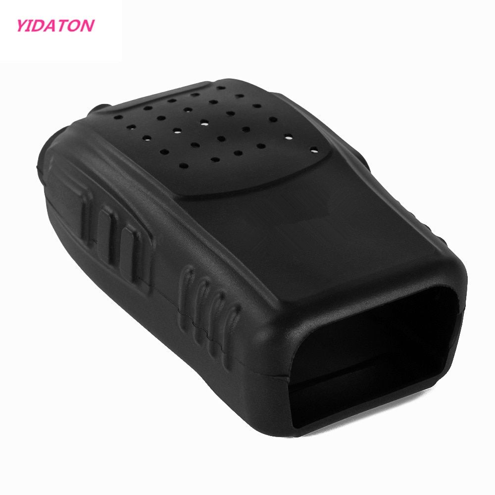 YIDATON New Soft Handheld Two Way Radio Rubber Silicon Case Holster for Retevis H777 Baofeng BF-888s Pofung 888s Walkie Talkie