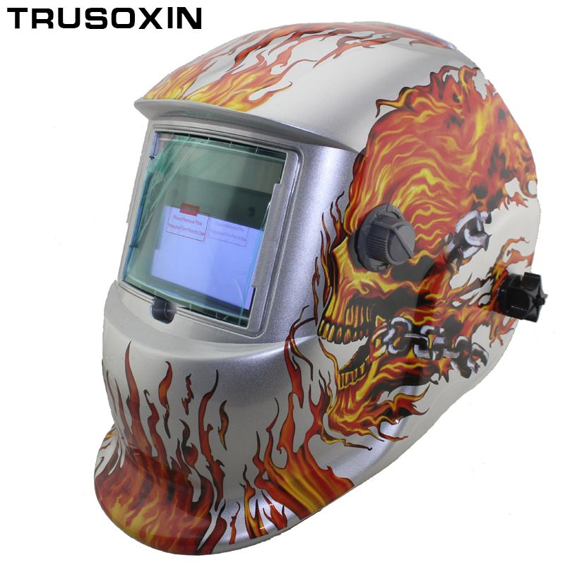 Solar Auto Darkening Electric Wlding Mask/Helmet/Welder Cap/Welding <font><b>Lens</b></font>/Eyes Mask for Welding Machine and Plasma Cutting Tool
