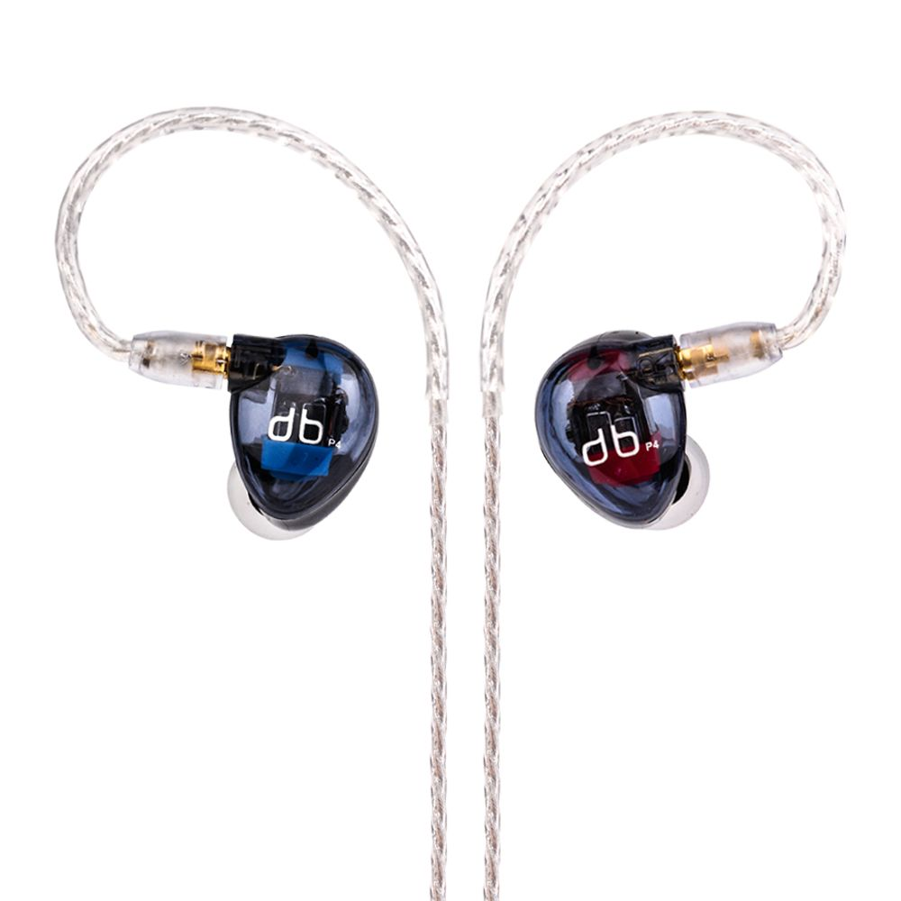 AK New AUDBOS P4 4BA In Ear Earphone 4 Balanced Armature Chinese HiFi Monitor In Ear Headset With MMCX Cable Free Shipping